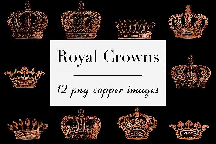 Copper Crown Clipart