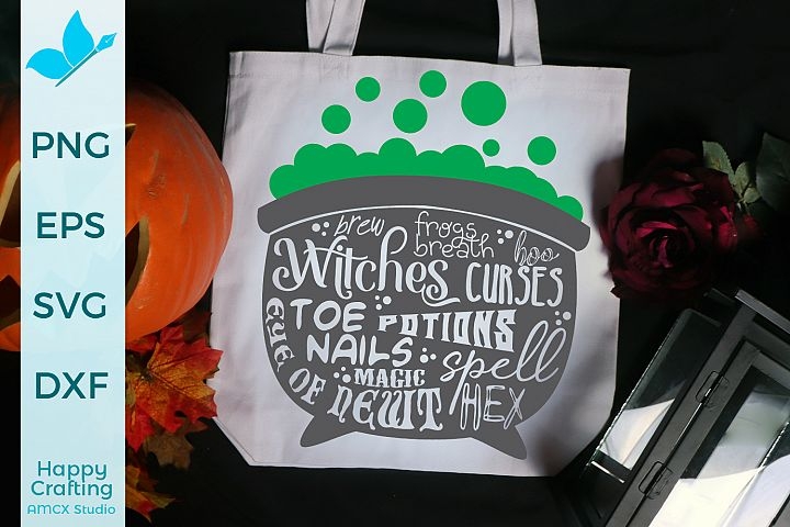 Witches Cauldron - A Spooky Halloween File