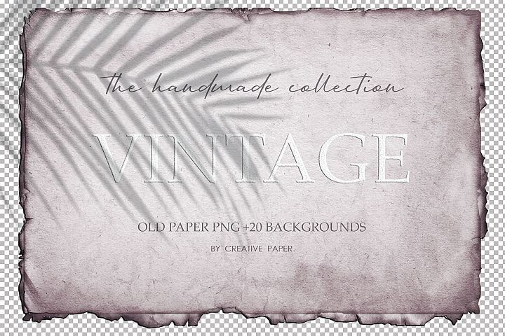 Vintage Paper Png Backgrounds