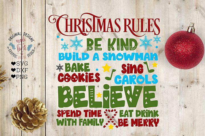 Christmas - Christmas Rules
