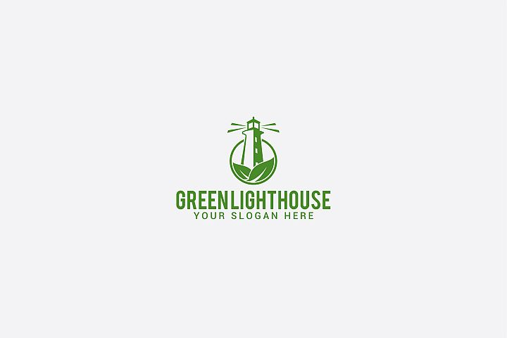 green lighthouse logo