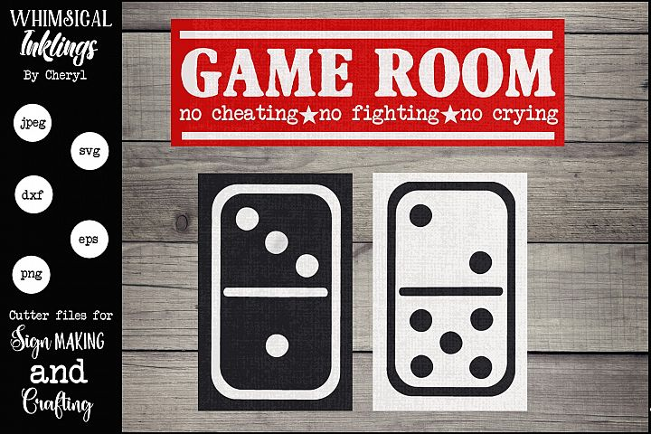 The Game Room SVG Set