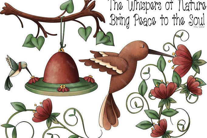 Whispers of Nature 1 Clip Art