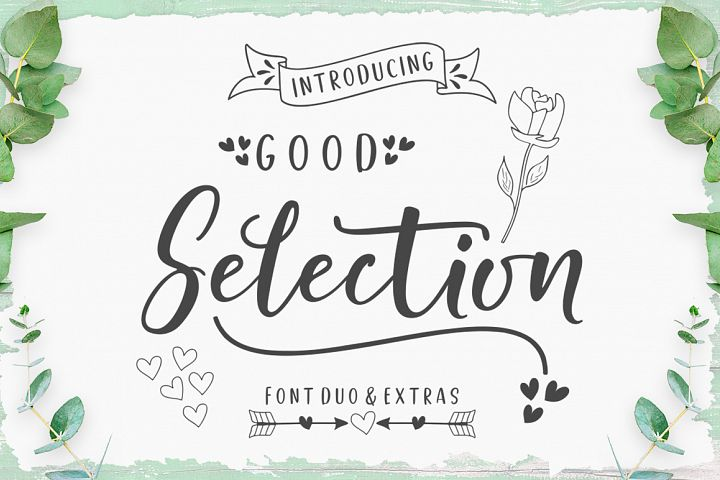 Good Selection Font Duo & Extras