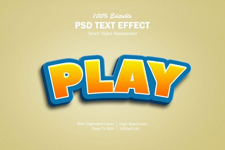Play 3D Text Effects