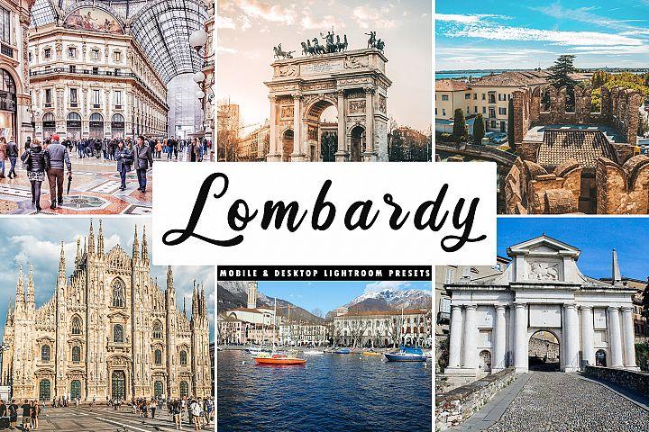 Lombardy Mobile & Desktop Lightroom Presets