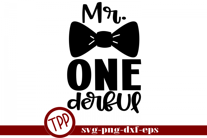 Onederful svg, BoyBirthday One svg, First Birthday svg