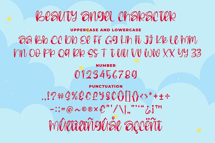 Beauty Angel - Bouncy Handwritten Font example image 6