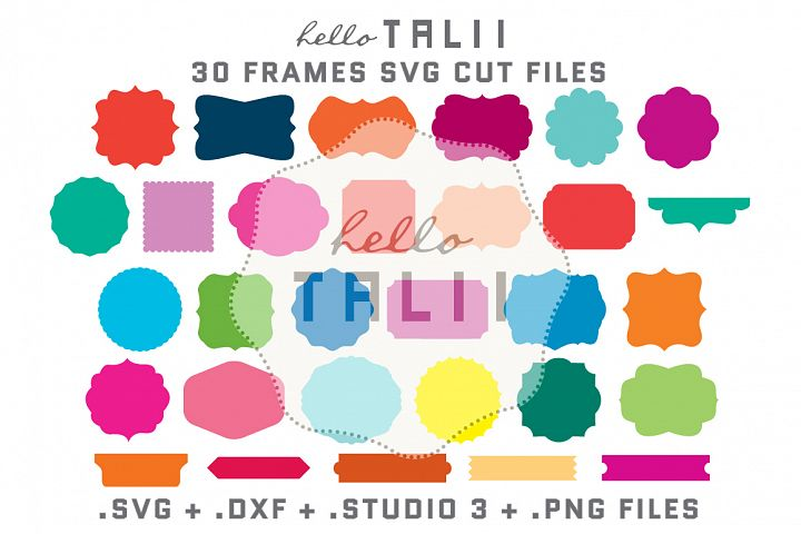 Frames SVG Cutting Files BUNDLE
