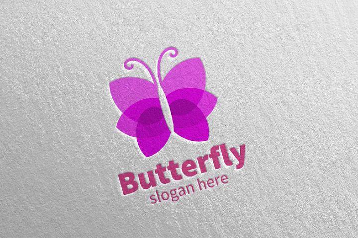 Butterfly Logo vol 18