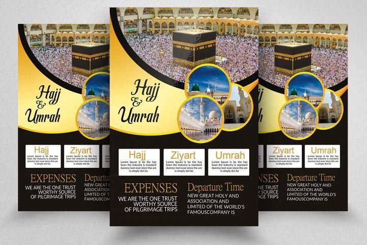 Umrah & Hajj Flyer Template