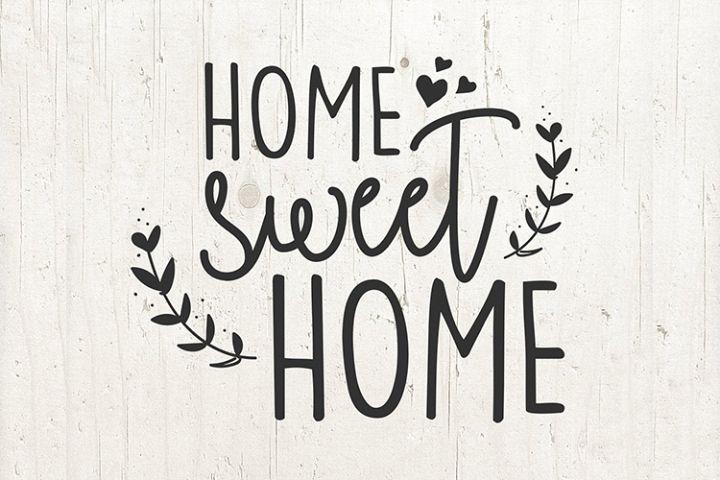 Home Sweet Home sign SVG Home SVG Welcome SVG Design file