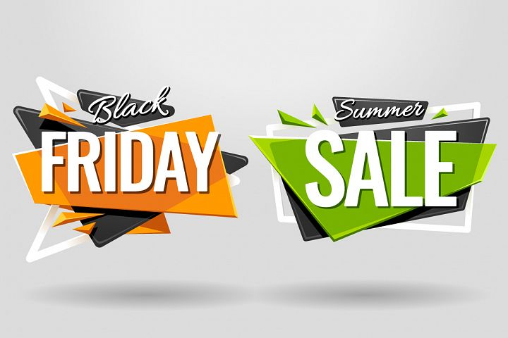 SALE BANNERS | Material Design - Free Design of The Week Design 4