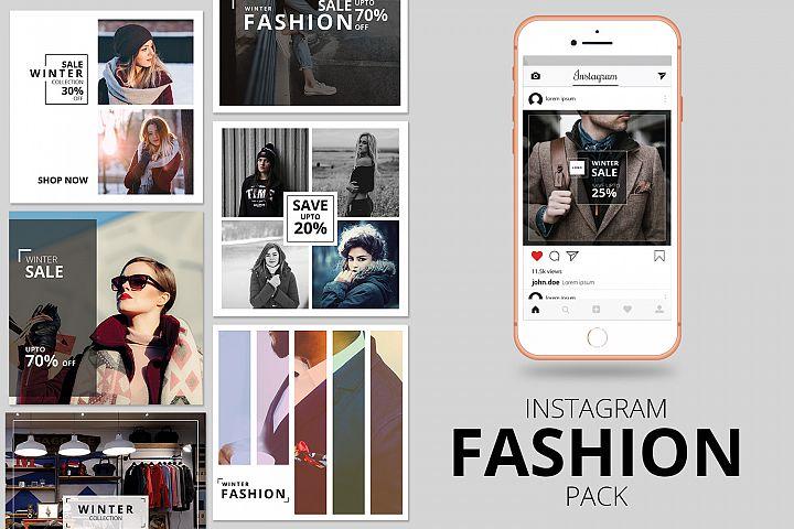 Fashion Instagram Banner Pack