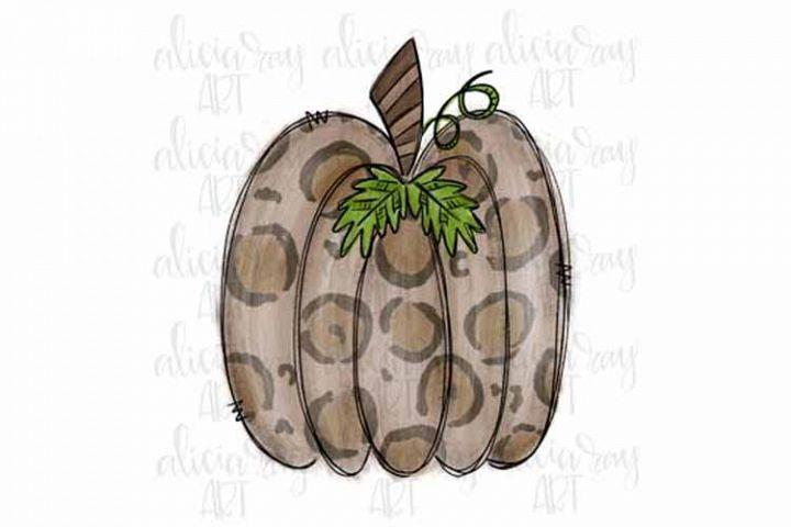 Tan Leopard Pumpkin