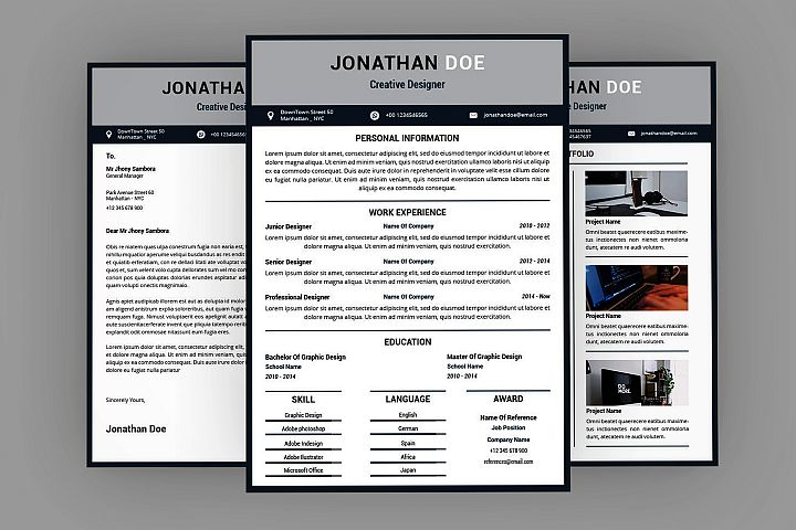 Different Resume Designer