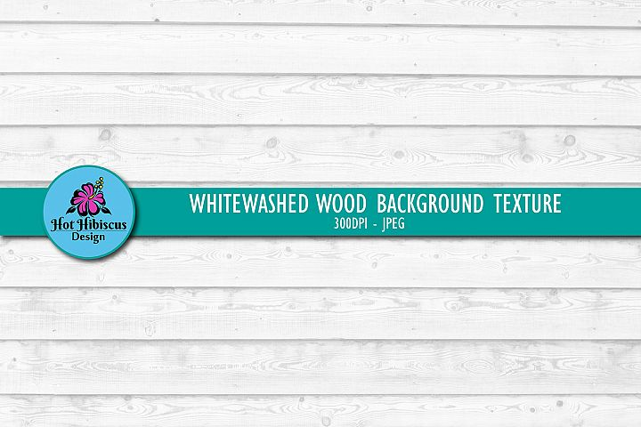 Weathered White Wood Texture Background Digital Paper