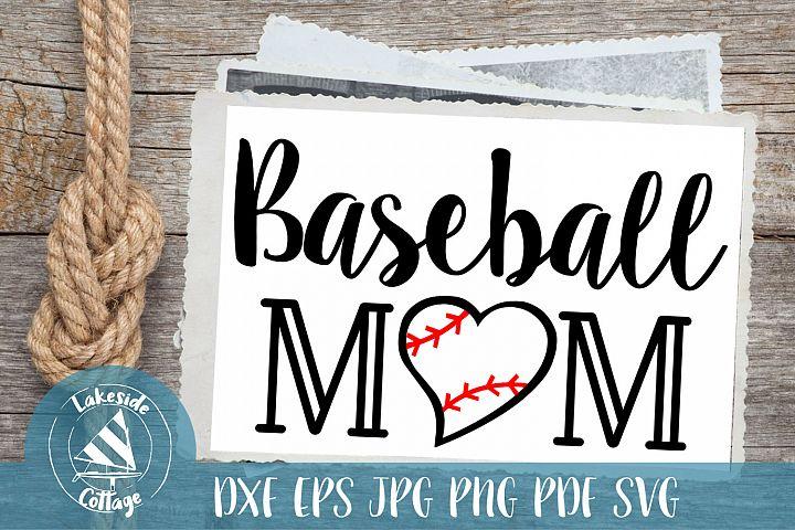 Baseball Mom Life - Love Ball eps dxf svg png jpg