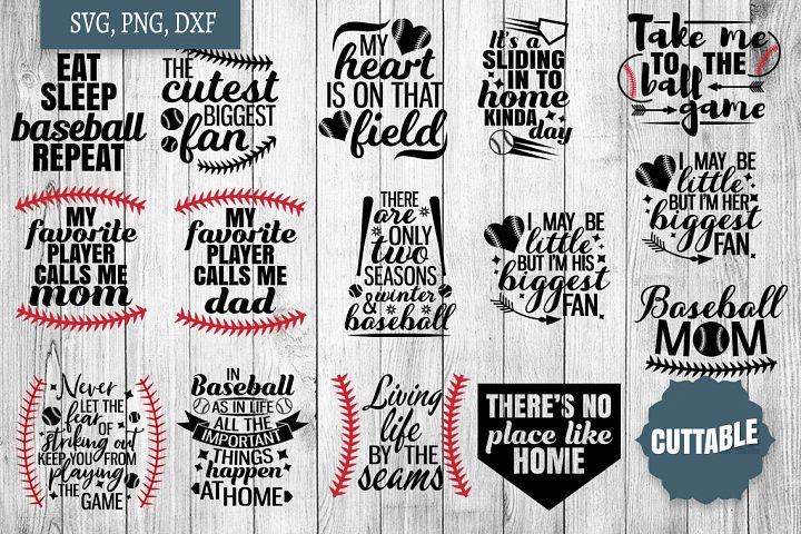 Baseball SVG bundle, Baseball cut files, base ball quote svg