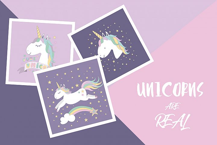 Unicorns are real set