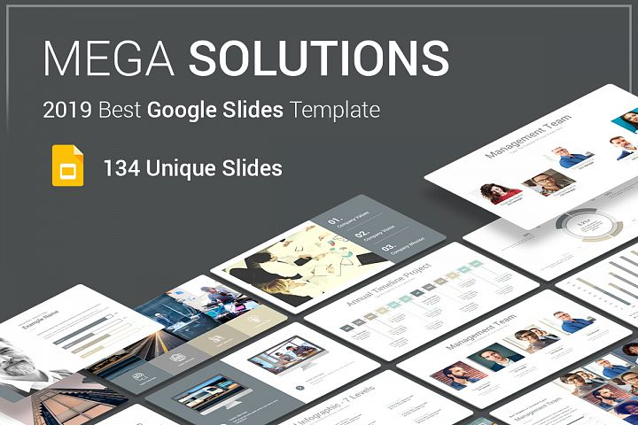 Mega Solutions Google Slides Template