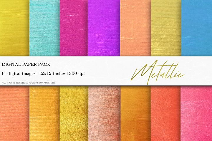 Metallic Backgrounds, Gold Wedding Invitation Papers