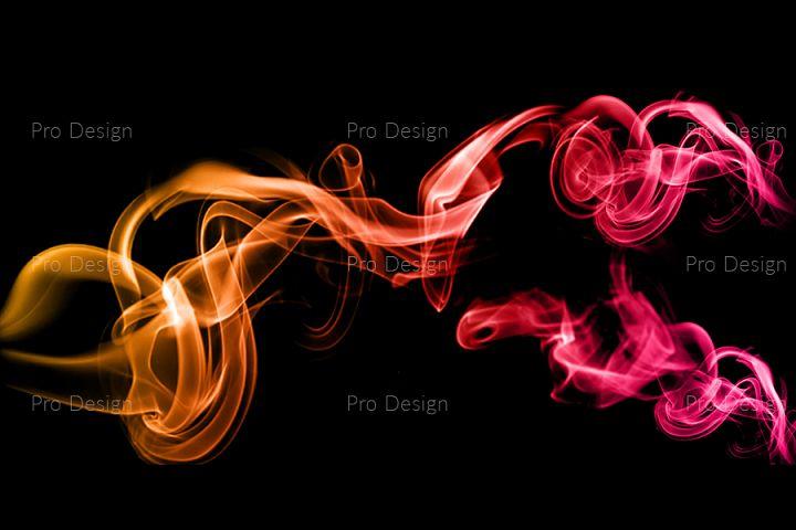 Coloured Smoke Background