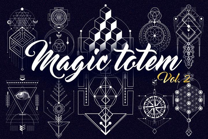Sacred Geometry. Magic totem vol.2