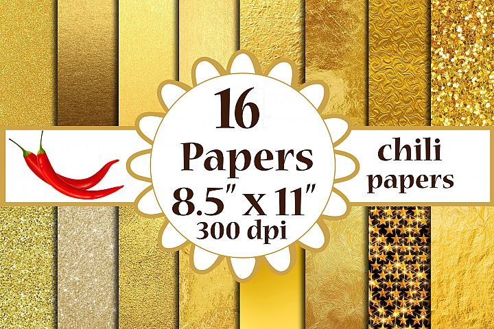 Gold Foil Paper,Metallic Gold A4 papers 8.5x11 inches