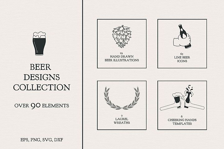 Beer Designs Collection