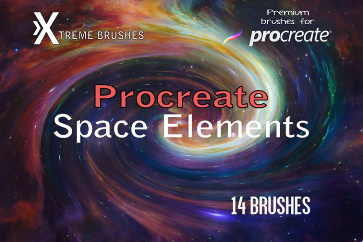 Procreate Space Elements!