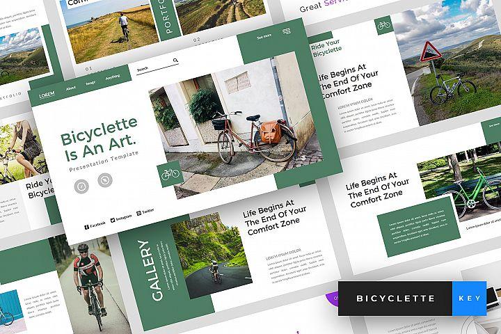 Bicyclette - Bicycle Keynote Template