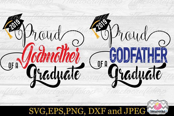 Proud Godmother, Proud Godfather of a 2019 Graduate