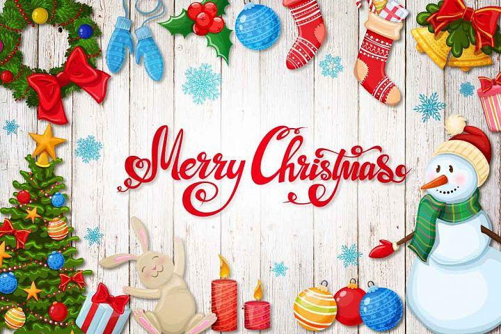 Merry Christmas - vector Illustrations