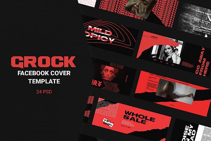 Grock Facebook Cover Templates