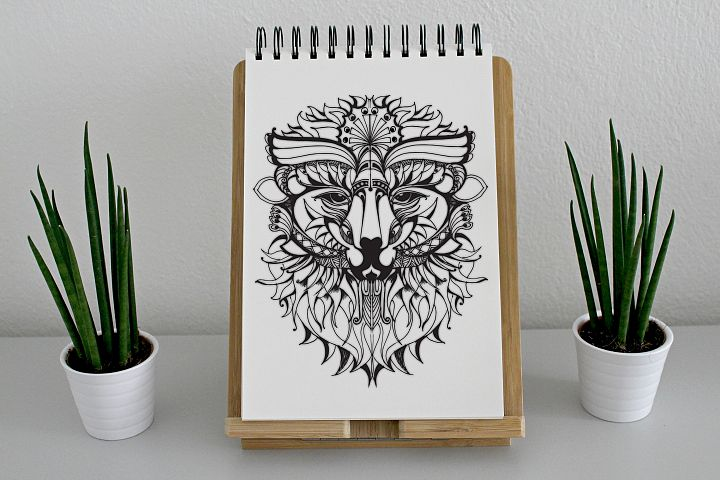 Mythical Character Animal Clipart SVG Hand Drawn Unique Item