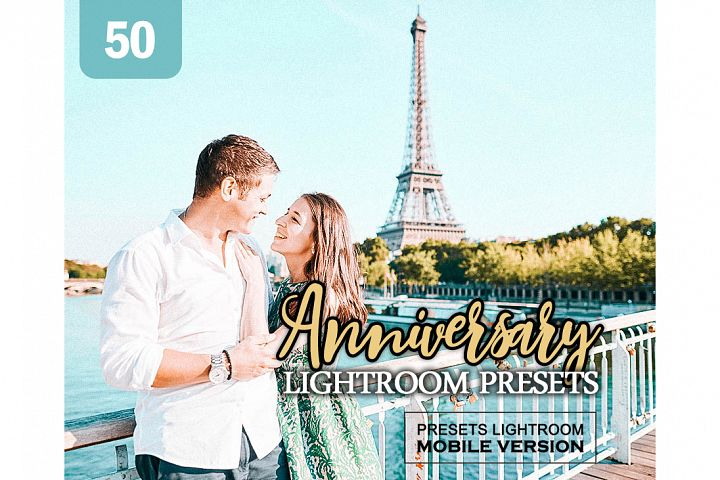 Anniversary Lightroom Mobile Presets Adroid and Iphone/Ipad