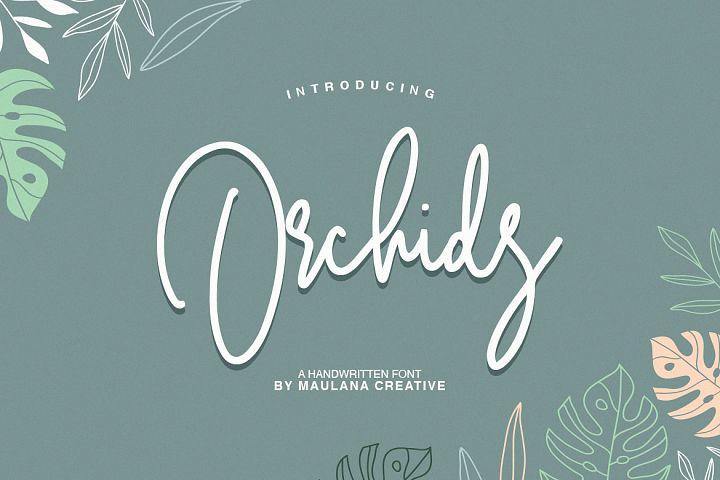 Orchids - Handwritten Font