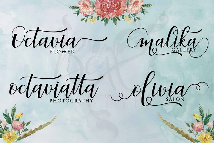 Faranisa Script - Free Font of The Week Design 1