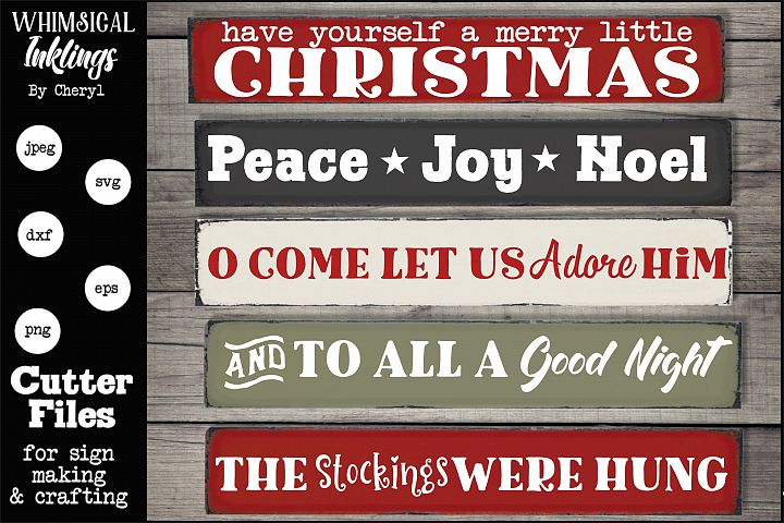 Christmas Hodge Podge Two-SVG Set
