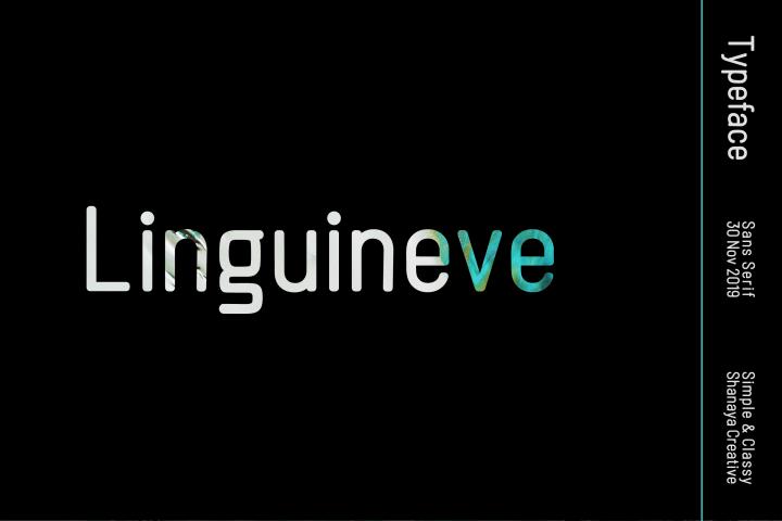 Linguieve Font | Clean and Stylish Sans Serif