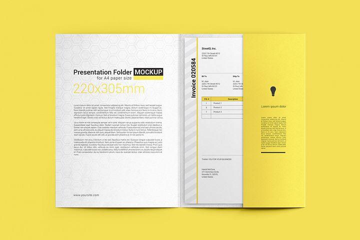 Paper Folder Mockup