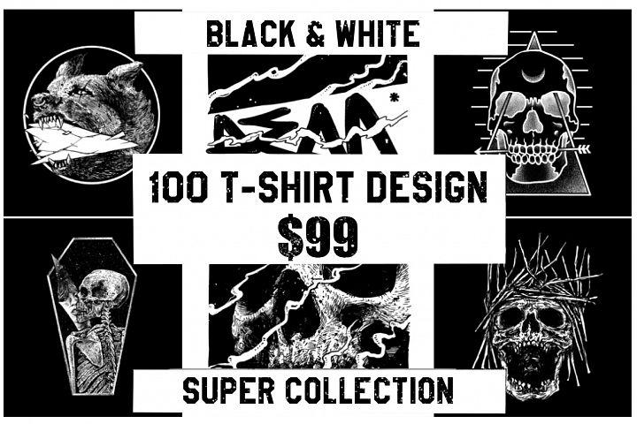 T-Shirt Design Super Collection - Discount
