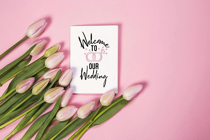 Welcome to our wedding | SVG cut files | Wedding SVG |