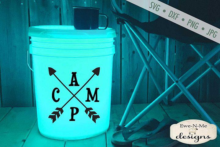 Camp Arrows - Camping SVG - Camping Bucket - SVG File
