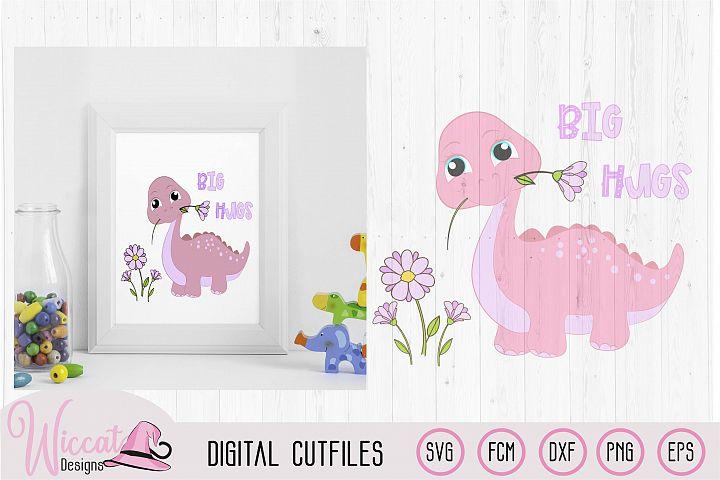 Girl dinosaur, Baby svg files