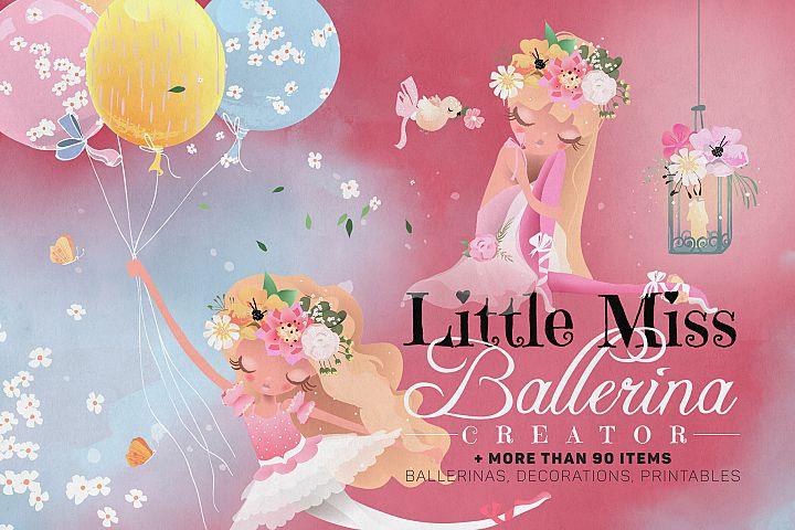 Little Miss Ballerina Creator