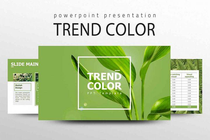 TREND COLOR Presentation Template