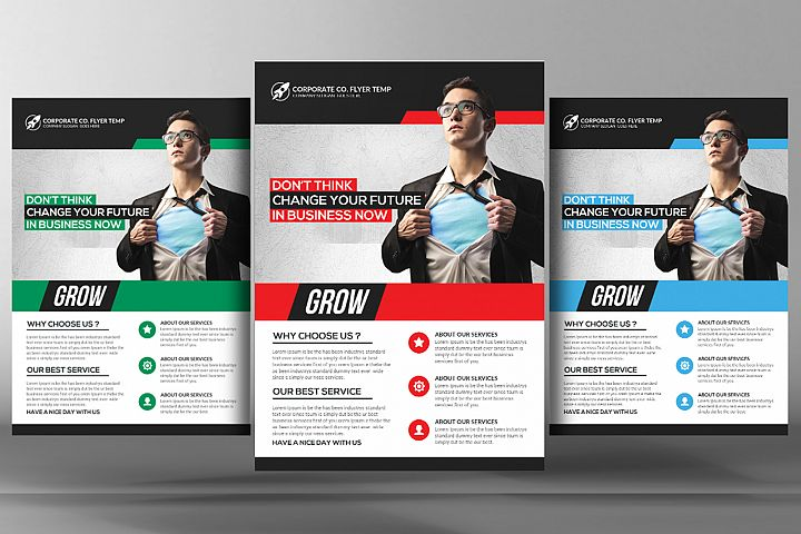 Corporate Fresh Idea Flyer