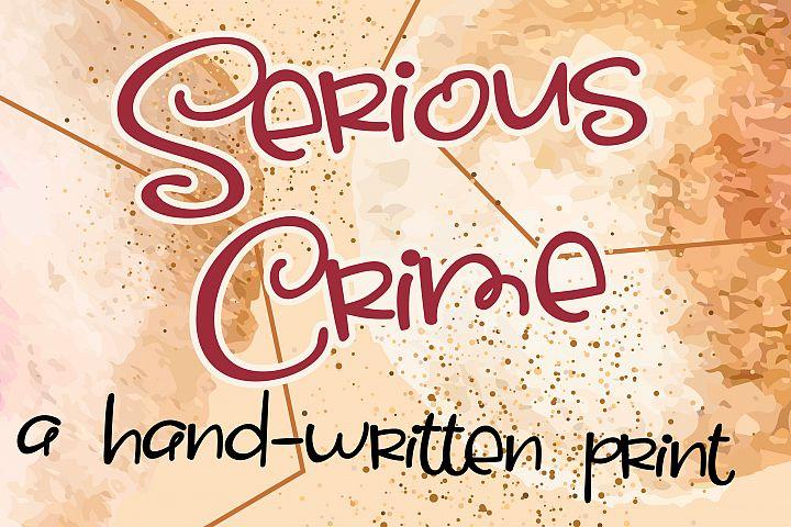Serious Crime